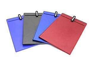 Adventa KBS05-AS Kilpboard, plástico, papelería, portapapapeles, Colores Surtidos