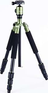 Rollei CT-4A - Trépied universel - Fonction Monopode et Trépied de table - 147 cm Hauteur - Vert
