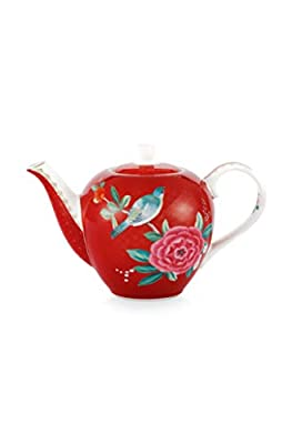 Essenza Home Pip Studio 26-51005051 Blushing Birds Théière Rouge 0,75 l