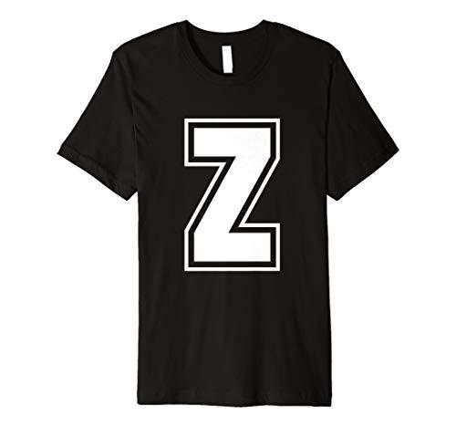 Buchstabe Z Alphabet T-Shirt ()