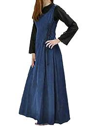 Amazon.it  Vittoriano - Blu   Vestiti   Donna  Abbigliamento efe8f5da515