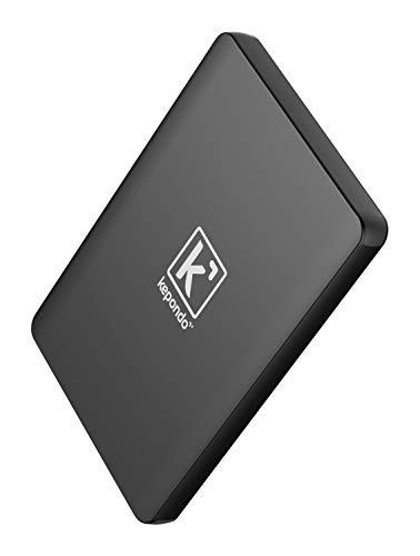 Kepondo Power Bank 20000mAh, Aluminiumgehäuse Externer Akku, External Battery, Batterie, Powerbank, Ladegerät, Quick Charge, USB QC 3.0 für jedes Handy und Tablets (Schwarz)