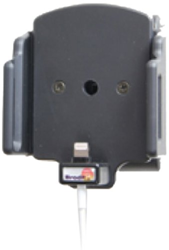 Brodit 514436 Kfz-Halterung mit Kabelanchluss für Apple iPhone 5 (62-77/6-10mm) schwarz