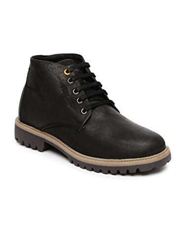Provogue Men's Black Leather Boots (PV8166) - 7 UK