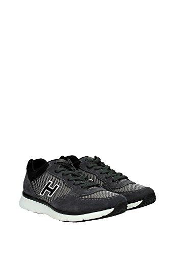 HXM2540S421BZ99313 Hogan Sneakers Uomo Tessuto Grigio Grigio