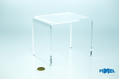 Fimel tavolini mm.150x150x150 plex trasparente 5mm