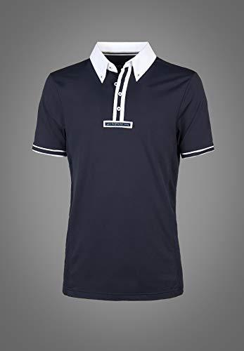 Equiline Mens Comp Polo Shirt Lorenz XL