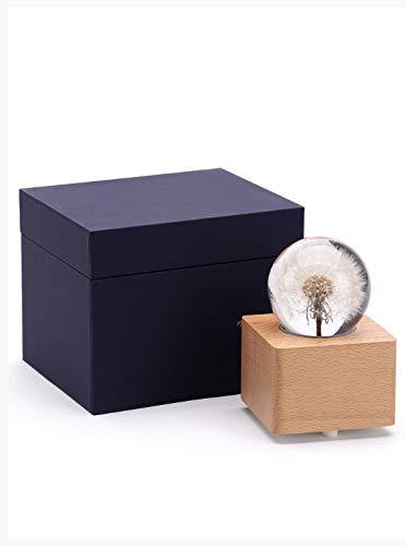 all Spieluhr aus Holz Octave Box rotierenden Himmel Stadt Geburtstagsgeschenk Mädchen Mädchen ()