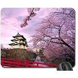Burg Hirosaki Japan Mauspad, Mousepad (Mittelalter Maus Pad)