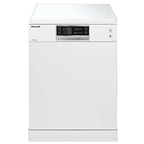 Brandt DFH13526W Autonome 13places A++ lave-vaisselle - Lave-vaisselles (Autonome, Blanc, Taille maximum (60 cm), Noir, Blanc, senseur, Acier inoxydable)