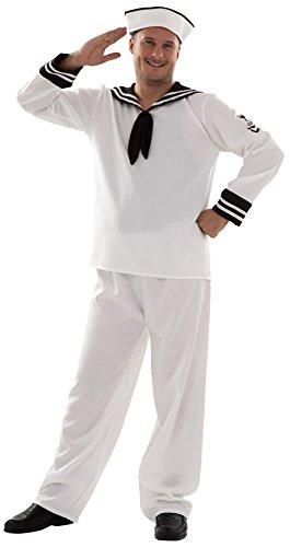 Imagen de disfraz de marinero para hombre talla xl = 54 58