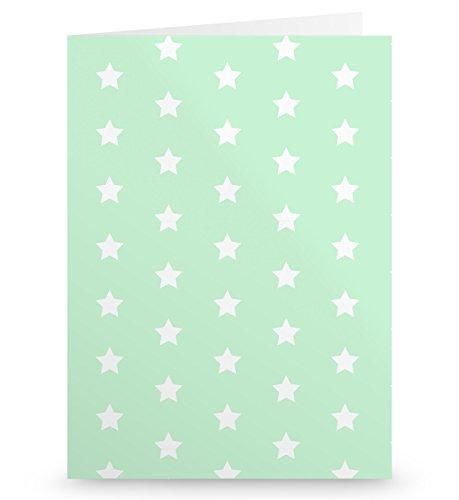 Mr. & Mrs. Panda Grußkarte Einhorn Prinzessin - 100% handmade in Norddeutschland - Geburtstagsgeschenk, Pappe, Einladungskarte, Monat, Papier, Gutschein, Einladung, Geburtstag, Gutscheinkarte, Prinzessin, Geschenk, Karton
