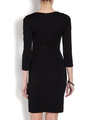 Morgan - Vestito, manica lunga, donna Nero (Noir)