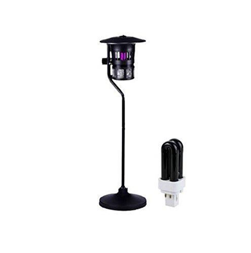 Nola Sang Befallen Garten-Pest-Lampe Electronic Floor Art Home Outdoor Mosquito Zapper Super Fly Bug Insekten Professional Catcher