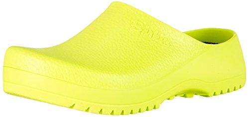 Birkenstock Professional Super-Birki, Damen Clogs, Gelb (Neon Yellow), 38 EU