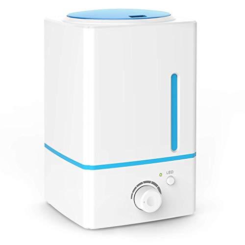 Äständig Öl Diffuser, Großraum Ätial Oil Diffuser Humidifier 1500ml for Home, Business-20hrs,Cool Mist, Whisper Quiet,1.5L) - Whisper Cool
