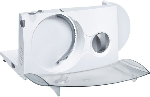Cortafiambres Bosch MAS4601N, 220 - 240 V, 50/60 Hz, Plástico, Blanco, 80 x 120 x 196 mm, 2290 g