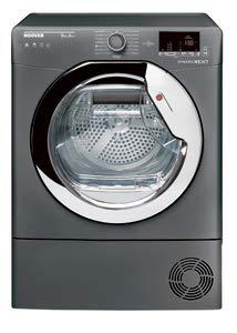 Hoover DXH9A2DCER 9KG Heat Pump Graphite Tumble Dryer