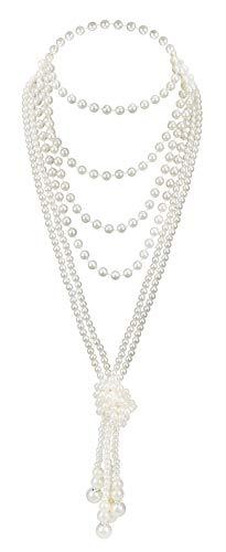 Kostüm 1920er Prohibition - 1920er Jahre Perlen Halskette Flapper Kostüm Zubehör 67,8
