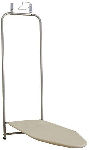 Household Essentials 144222-1 Über die Tür Bügelbrett mit Eisenhalter, natürliche Baumwolle Abdeckung (Bügelbrett-abdeckung Tür)