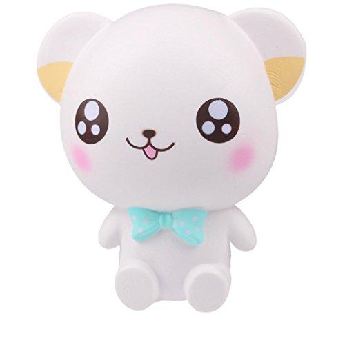 Jumbo Stress Relief Spielzeug für Erwachsene Kinder mingfa Cute Big Eye Bear Soft Moon Einhorn Cartoon Squeeze Dekompression Spielzeug (Lustige Halloween-lebensmittel Cartoons)