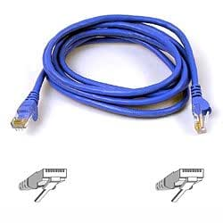 Belkin Cat6 Snagless UTP Patch Cable, 1 m - Blue