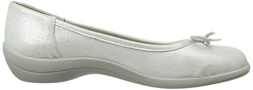 Padders Ladies Roxy Peep-toe Argenteo
