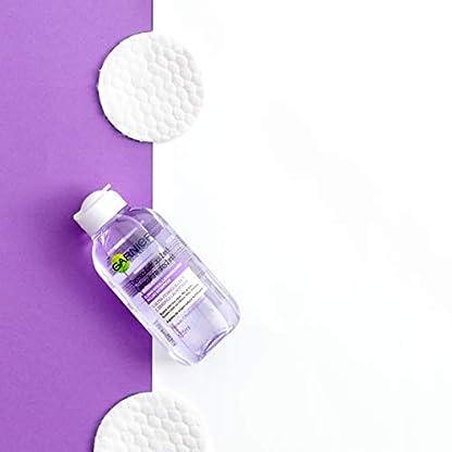 Garnier SkinActive Desmaquillante de Ojos Suave Bifásico 2 en 1, Enriquecido con Arginina – 125 ml