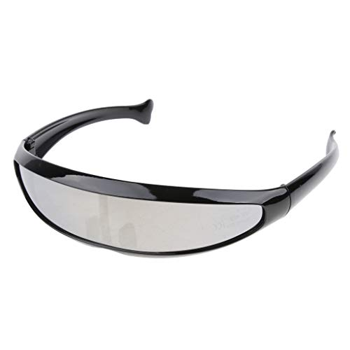 D DOLITY Herren verspiegelt Sonnenbrille Brille mit UV-Schutz Sportbrille Schutzbrille Arbeitsbrille...