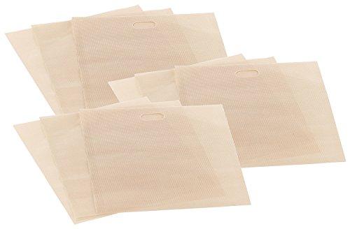 Rosenstein & Söhne Toasterbags: 9x Dauer-Antihaft-XL-Toastbags für Toaster, Mikrowelle & Backofen (Toastabag)