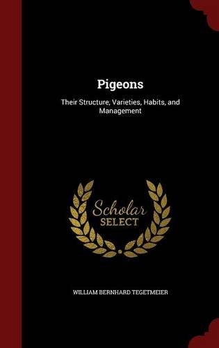 Pigeons: Their Structure, Varieties, Habits, and Management