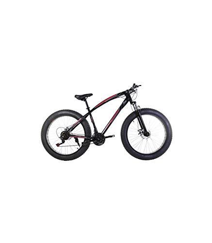 Riscko Fat Bike Bicicleta Todo Terreno Bep-011 Cambio Shimano Negro