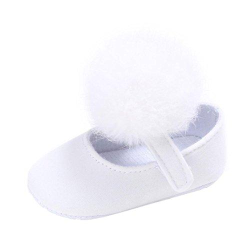 Sneakers Longra Monate Anti Kleinkind Krippe Lauflernschuhe Schuhe Krippeschuhe 18 White Für Babyschuhe rutsch Sohle 0 Neugeborenen Baby Mädchen Weiche Stoff ~ AfwdzpqP