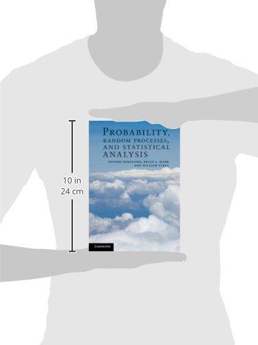 Probability, Random Processes, and Statistical Analysis Hardback