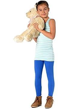 Leggings da bambina in cotone, 2