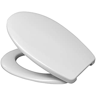 Hamberger WC-Sitz Fago mit Bügelscharnier, 1 Stück, weiß, 527653