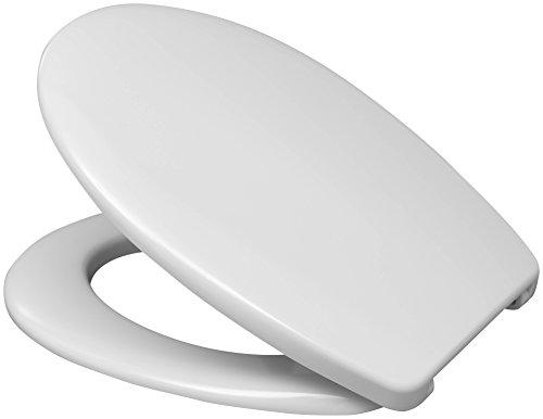 Hamberger 527653 WC-Sitz Fago, mit Bügelscharnier weiß