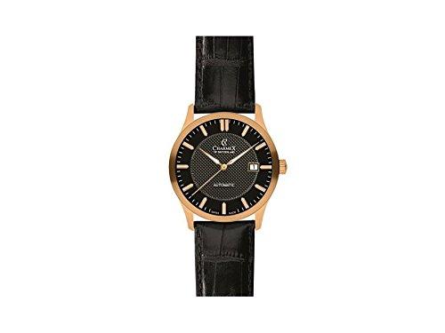 Charmex orologio con movimento al quarzo svizzero la Tremola Nero