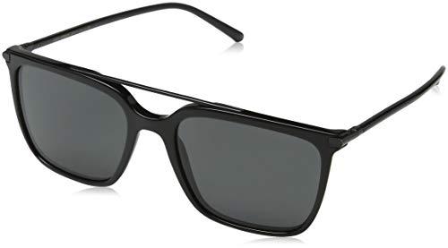 Dolce & Gabbana Herren 0DG4318 501/87 55 Sonnenbrille, Schwarz (Black/Grey),