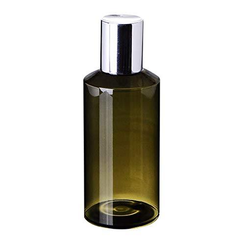 happyhouse009 150 ml tragbare transparente PET Leere Kunststofflotion-Flasche Nachfüllflasche Kosmetik-Dosen Dosen für Reisen, Leere Flasche für Kosmetik Lotion grün - Grün Lotionen