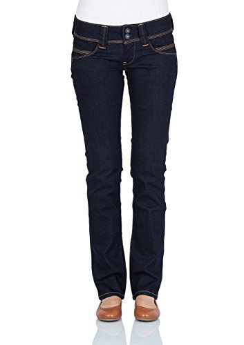 Pepe Jeans Damen Straight from the shoulder Leg Jeans Venus, Blau (PL200029M15), W29/L30