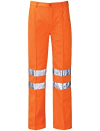 Hercules Pcrttr Delta Rail Size 36 Work Trousers Reg Leg - Orange