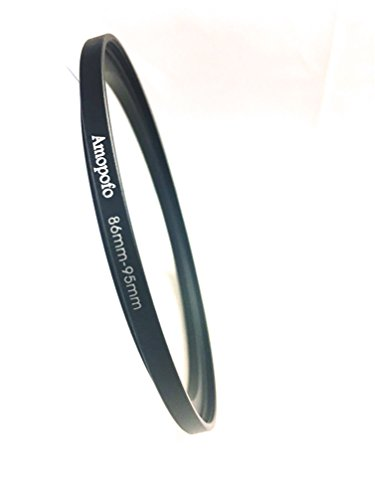 Universal 86-95mm Step-up Metall Objektiv Adapter Filter Ring/86mm Objektiv zu 95mm Zubehör -