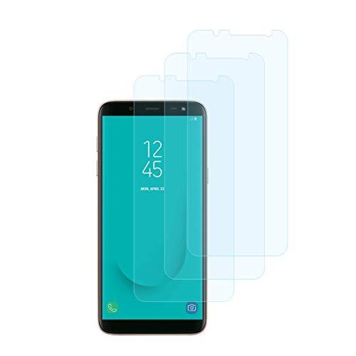 iTieTie Pellicola Protettiva Galaxy J6 2018, [3 Pacchi] [Senza Bolle] [Alta Definizione] [AntiGraffio] [9H Durezza] Vetro Temperato Protezione Schermo per Samsung Galaxy J6 2018