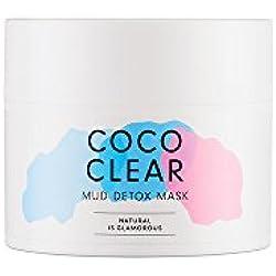 HelloBody Coco Clear Detox Maske (45ml) – Vegane Gesichtsmaske mit Detox-Effekt – Wirksam gegen unreine Haut – Natürliche Maske mit Anti Mitesser und Anti Pickeln Wirkung - Kokos