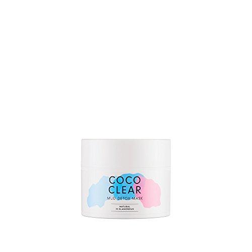 HelloBody Coco Clear Detox Maske – Gesichtsmaske mit Moor-Extrakt für den Detox-Effekt – wirksam gegen unreine Haut – Maske beugt...