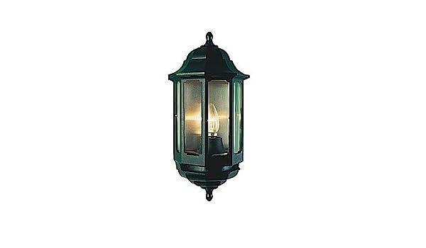 ASD Half Lantern Polycarbonate 60W BC Black