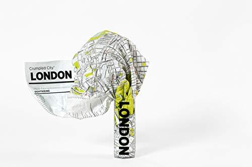 Crumpled City: London. Soft city maps for urban jungles: Die cleveren Stadtpläne für Großstadtnomaden (Crumpled City Maps)