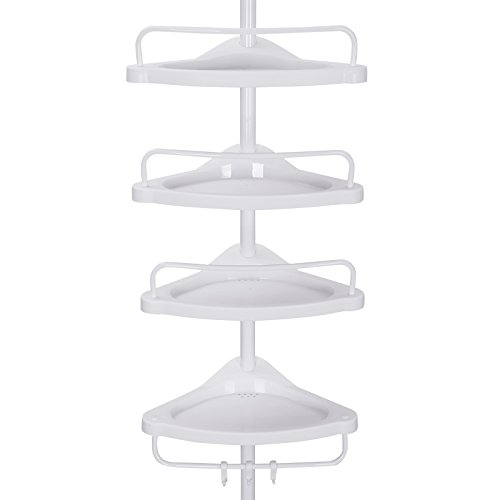 SONGMICS 85-305 cm 4 Tier Adjust...