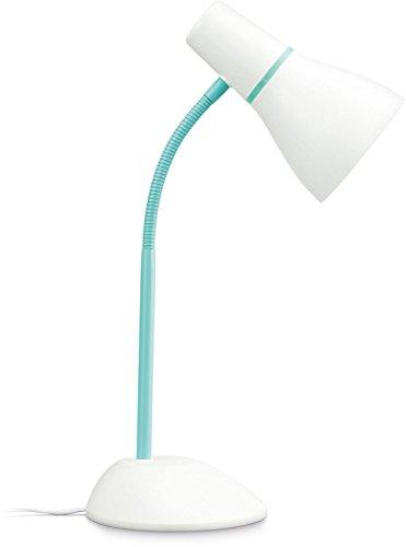 Philips myLiving Pear - Lámpara de mesa, plástico, casquillo E27 ...